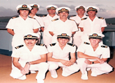 Why merchant master mariners wear white uniforms?