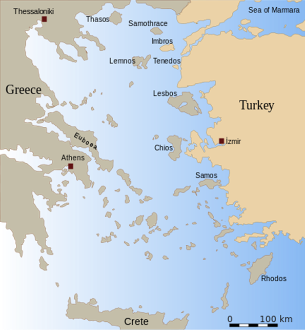 Territorial Waters Issue Between Greece And Turkey  EMarine