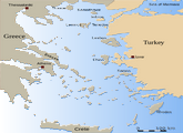 Territorial Waters Issue Between Greece And Turkey