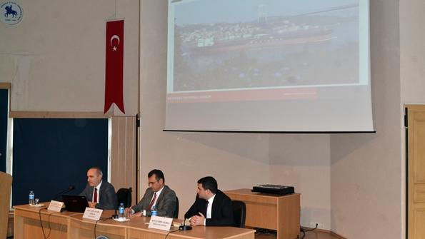 İnsan Kaynakları Müdürü Kaptan Tanyol Besek, Filo Müdürü Kaptan Adil Kamil Özkan ve Operasyon Müdürü Kaptan Evren Gürel
