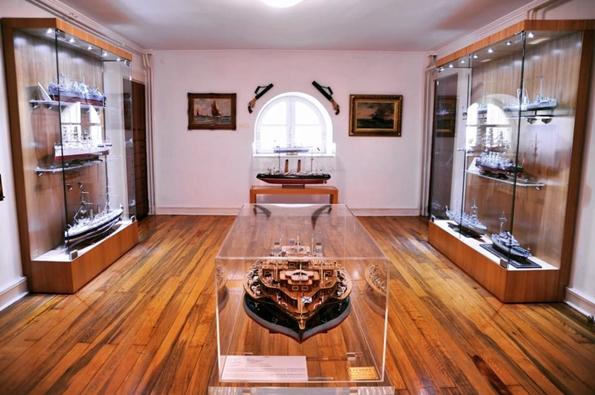 Arkas Deniz Tarihi Müzesi İç Kısım Görünüm
