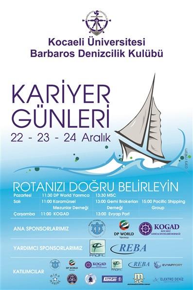 Barbaros Denizcilik Kulübü Kariyer Günleri Afişi