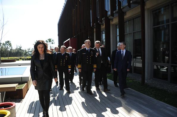 Deniz Kuvvetleri Komutanı Oramiral Bülent Bostanoğlu, Piri Reis Üniversitesi Ziyareti-1 (2)