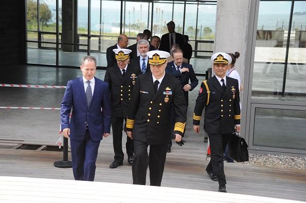 Deniz Kuvvetleri Komutanı Oramiral Bülent Bostanoğlu,Prof. Dr. Oral Erdoğan-1