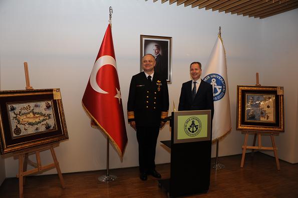 Deniz Kuvvetleri Komutanı Oramiral Bülent Bostanoğlu,Prof. Dr. Oral Erdoğan-2