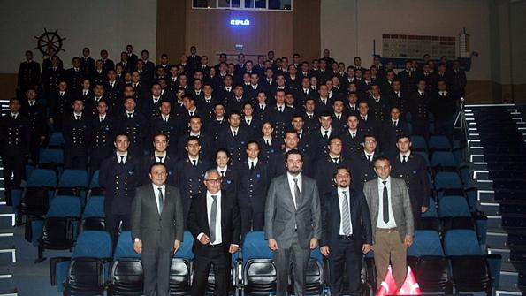 Dokuz Eylül Üniversitesi Denizcilik Fakültesi 18. Kış Kariyer Günleri Chemfleet'in Katılımıyla Son Buldu