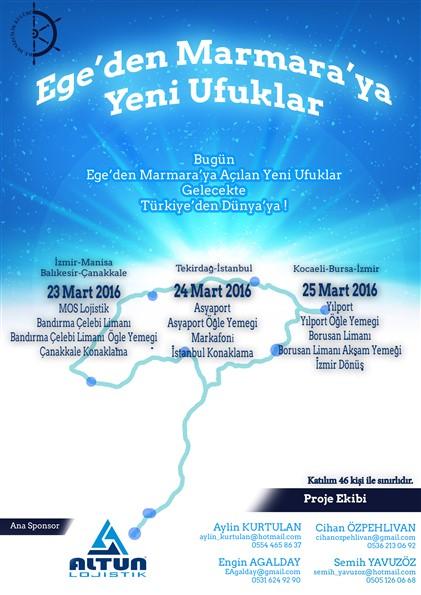 Ege'den Marmara'ya Yeni Ufuklar