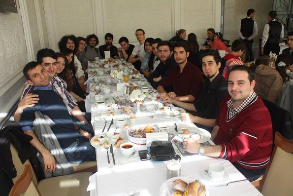 Galatasaray Üniversitesi Denizcilik Kulübü Kahvaltı Organizasyonu