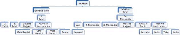 Gemi Organizasyon Şeması