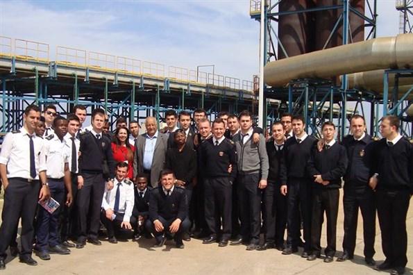 Girne Üniversitesi Teknecik elektirik santrali ziyareti 4