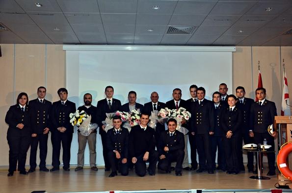 Girne Amerikan Üniversitesi Denizcilik Kulübü Yönetim Kurulu Öğrencileri 1