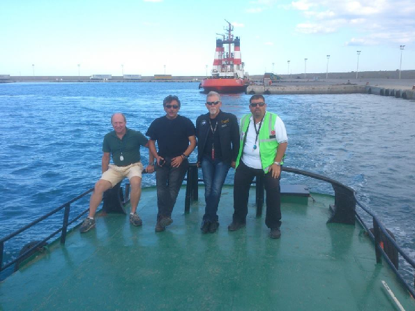 KKTC Girne Turizm Limanı Kılavuz Kaptan Mustafa Çürükoğlu