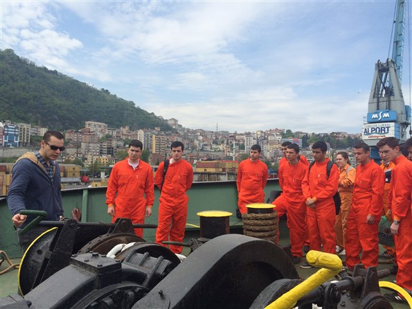 KTÜ Trabzon Liman Ziyareti