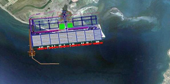 Kuzey Ege Çandarlı Limanı Yerleşim Planı