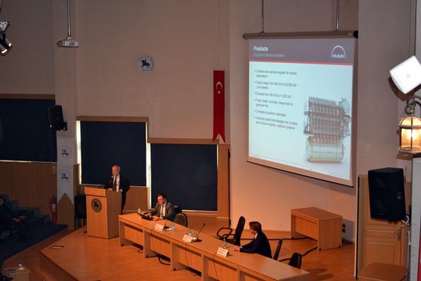 MAN Türkiye Dizel ve Turbo Satış Servis Ltd. Şti. Müdürü Sayın Kemal Oğuz ÇOBAN
