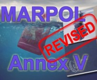 MARPOL Annex 5 Simge