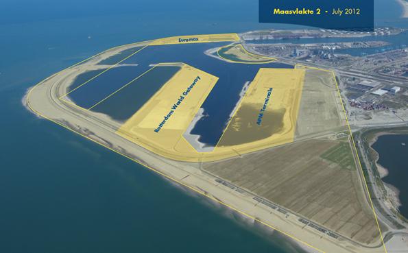 Maasvlakte Gemi Barınağı ve Sanayi Alanı