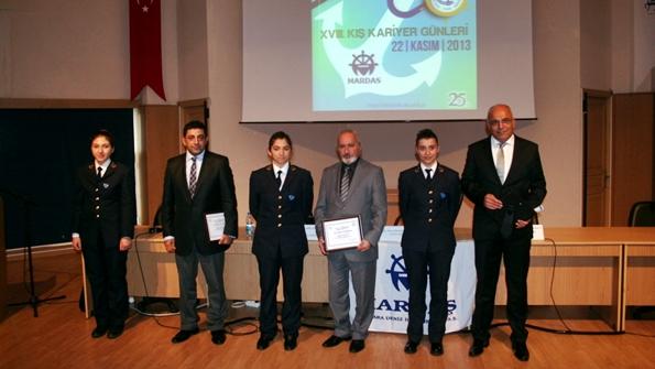 Mardaş Denizcilik DEÜ Kariyer Günlerinde 2013-2