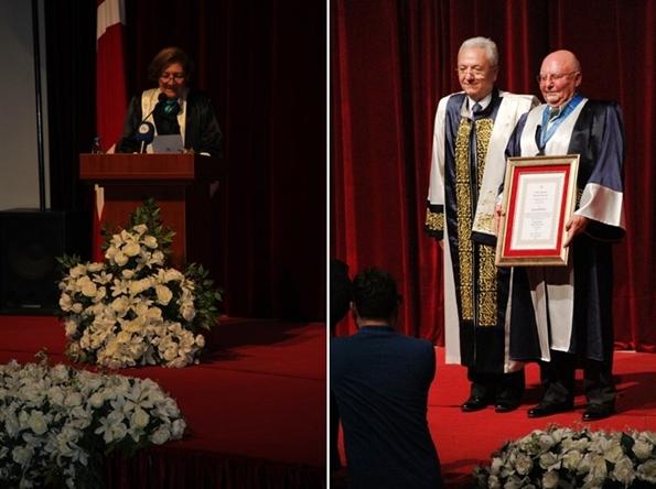 Prof. Dr. Güldem Cerit - Prof. Dr. Mehmet Füzün - Lucien Arkas