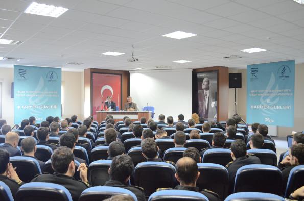 Recep Tayyip Erdoğan Üniversitesi Turgut Kıran Denizcilik Yüksekokulu Kariyer Günleri Konuğu Beykim Petrol Oldu.