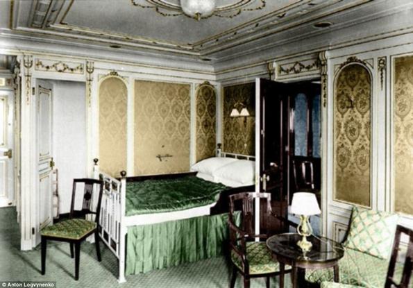 Siyah&Beyaz Titanic 'in Renklendirilmesi 9