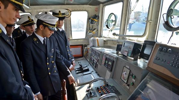 Turgut Kıran Denizcilik Yüksekokulu Öğrencileriden Sahil Güvenlik'e Ziyaret 2