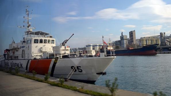 Turgut Kıran Denizcilik Yüksekokulu Öğrencileriden Sahil Güvenlik'e Ziyaret 3