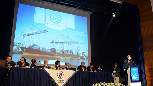 e-MarineEducation Yaşar Üniversitesi'nde